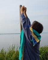Flagge hissen an Midsümmer