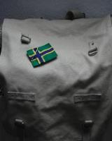 Noordlandflagg als Sticker